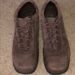 Brown Leather Outdoor Boots - Size 7 1/2
